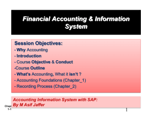 What is Accounting? - masif-emba-fais-s12