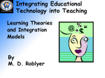 Learning theory and integration models