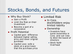 Stocks, Bonds, And Futures