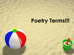 Poetry Terms!!!