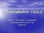 3. Oceanographic Tools Notes