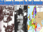 Ch 28 Europe and the Great Depression in the 1930s