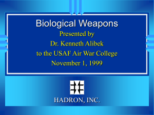 Biological Weapons - GlobalSecurity.org
