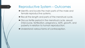 Reproductive System * Outcomes
