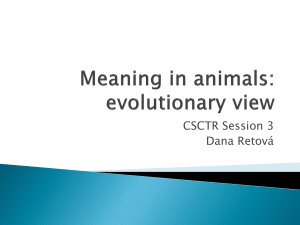 evolutionary view