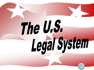 The U.S. Legal System File