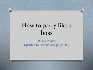 How to be sober like a boss