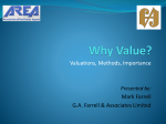 Why Value? - Association of Real Estate Agents (AREA)