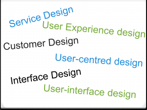What does user experience mean to me?