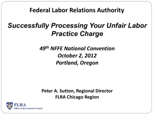 Successfully Processing Your Unfair Labor Practice Charge