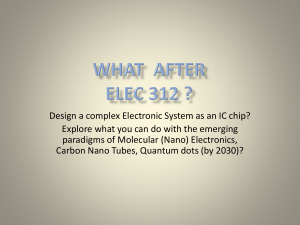 Where Can You Go after ELEC 312 ?