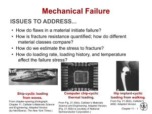lecture 10-12 mechanical failure