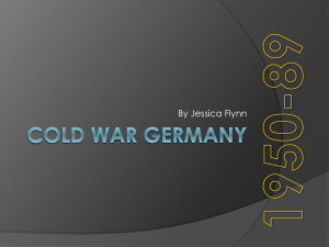 Cold War Germany