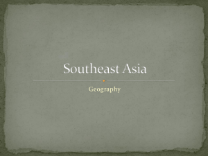 Southeast Asia - Fort Bend ISD
