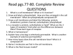 Read pgs.77-80. Complete Review QUESTIONS