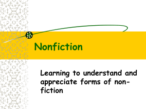 Nonfiction - Herscher CUSD #2