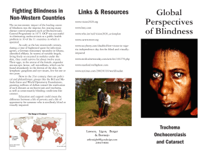 Global Perspectives of Blindness