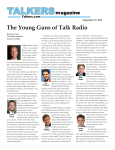 The Young Guns of Talk Radio