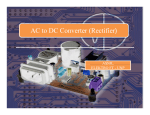 AC to DC Converter (Rectifier)
