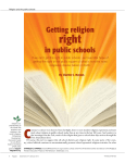Getting religion in public schools