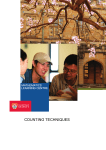 counting techniques - The University of Sydney
