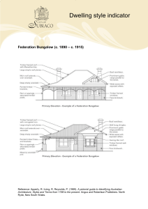 Federation Bungalow