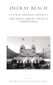 Delray Beach CBD Architectural Design