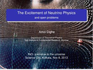 The Excitement of Neutrino Physics