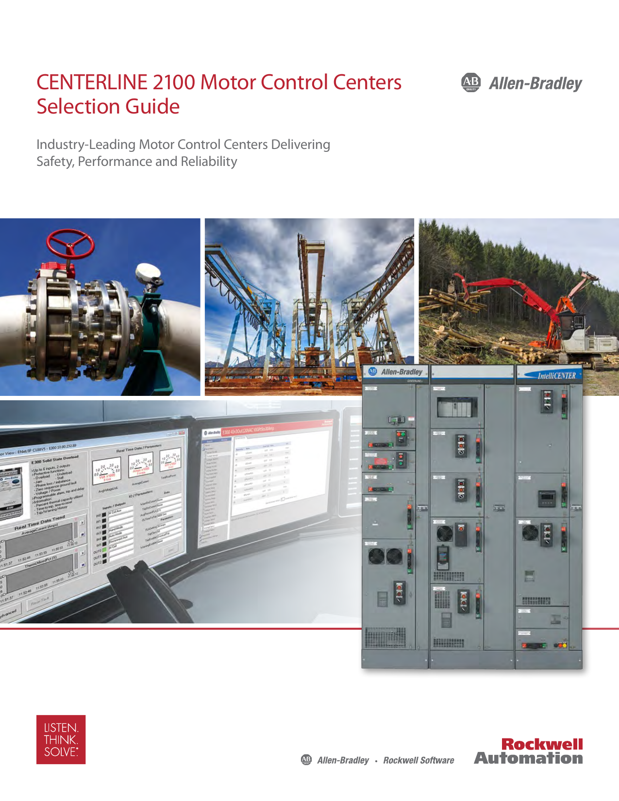 CENTERLINE 2100 Motor Control Centers Selection Guide