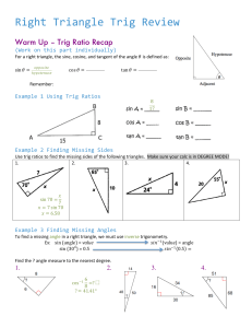 Trigonometry - studyres.com