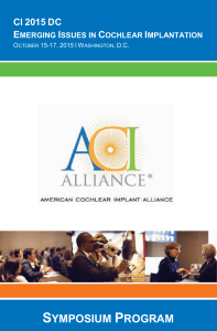 Here - American Cochlear Implant Alliance