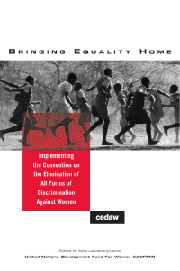 Bringing Equality Home: Implementing the
