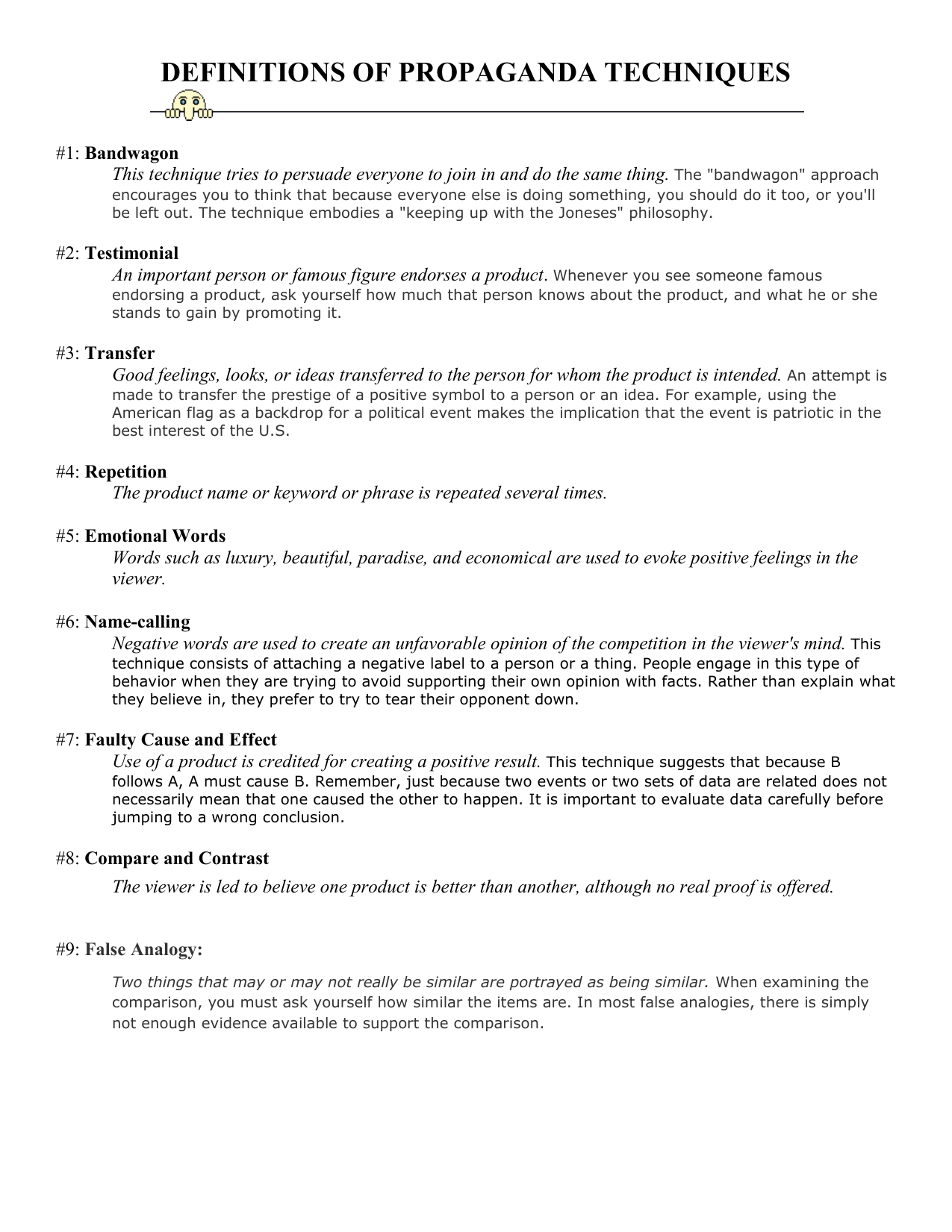 Faulty Analogy Example Choice Image Example Cover Letter For Resume