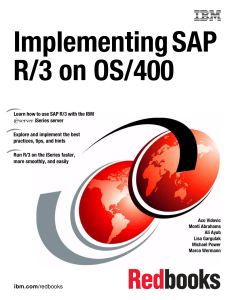 Implementing SAP R/3 on OS/400