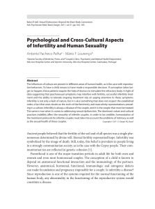 Psychological and Cross-Cultural Aspects of Infertility and Human