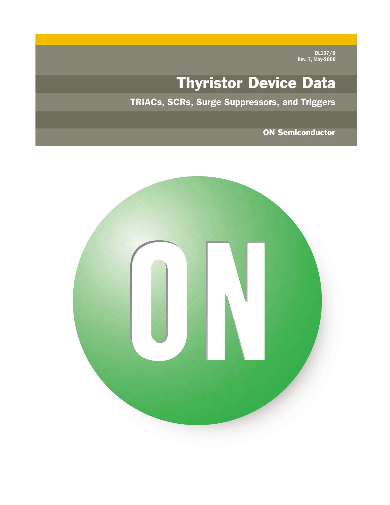 Thyristor Device Data Rsp Delayon Timer Another Commonemitter Sample Circuit Shown Below May