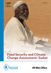 Food Security and Climate Change Assessment: Sudan