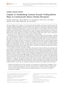 Chapter 9. Establishing Common Ground: Finding Better Ways to