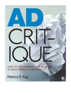 Ad Critique. - The City College of New York
