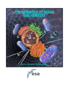 The Handbook of Redox Biochemistry- ESA, Inc.