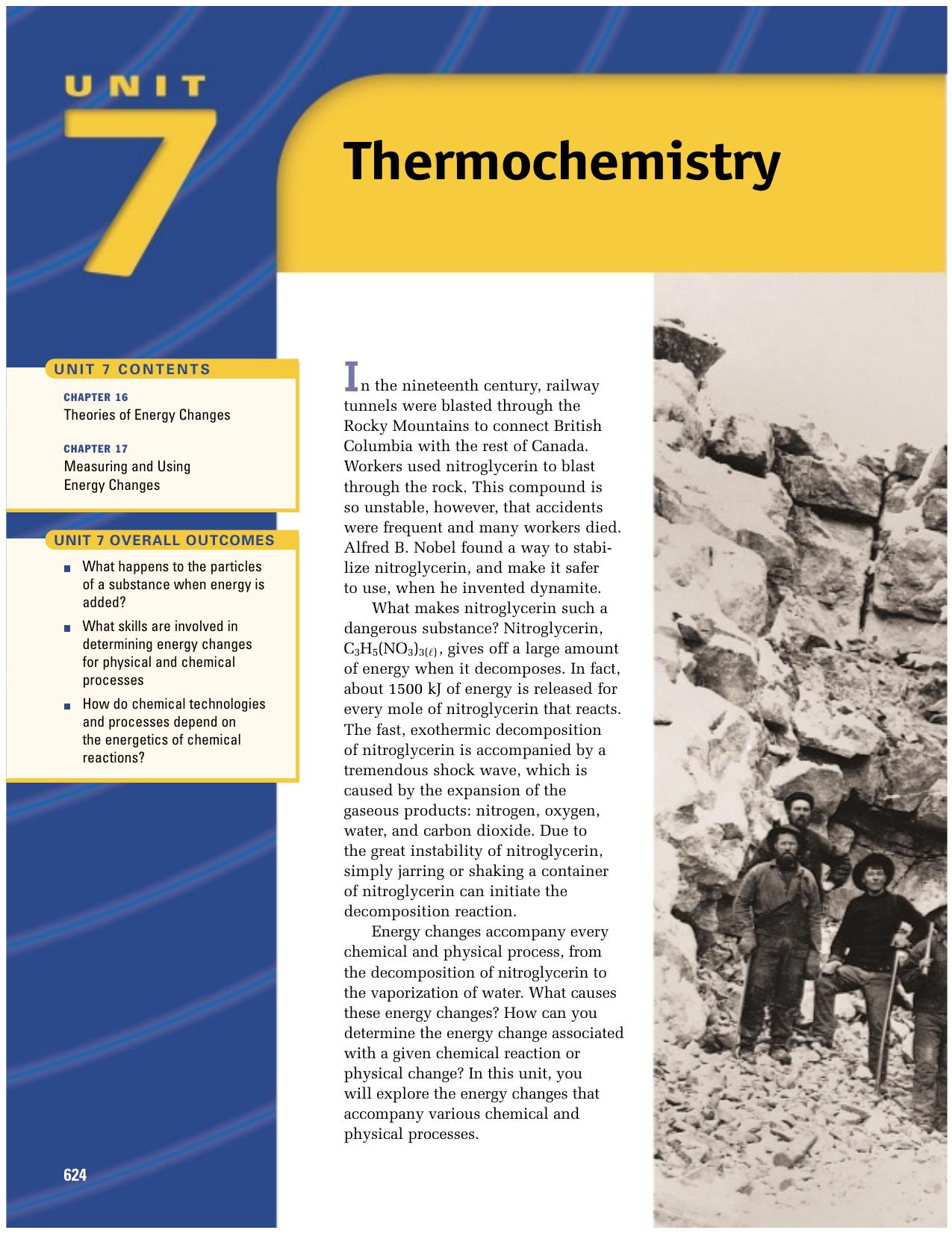 Thermochemistry - hrsbstaff ednet ns ca