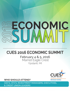 the 2016 economic summit conference schedule