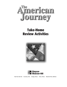Take-Home Review Activities