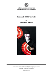 In search of Shirabyōshi