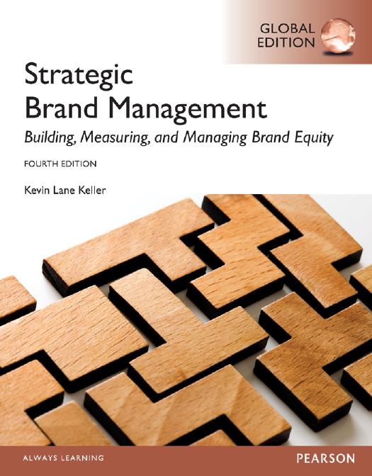 Keller Strategic Brand Management