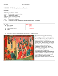 Lecture 16 Gothic Revolution WC 296-309 PP 307