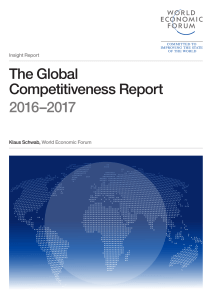 The Global Competitiveness Report 2016–2017 - WEF
