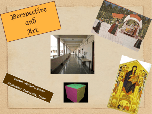 Perspective and Art - Ambedkar University Delhi