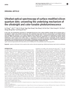 Ultrafast optical spectroscopy of surface