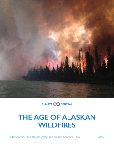 the age of alaskan wildfires